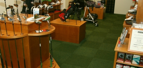 Weir Golf shop